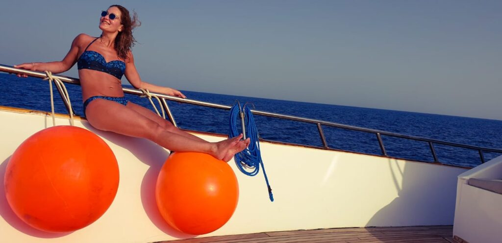 Solo Travel - Red Sea Diving Day