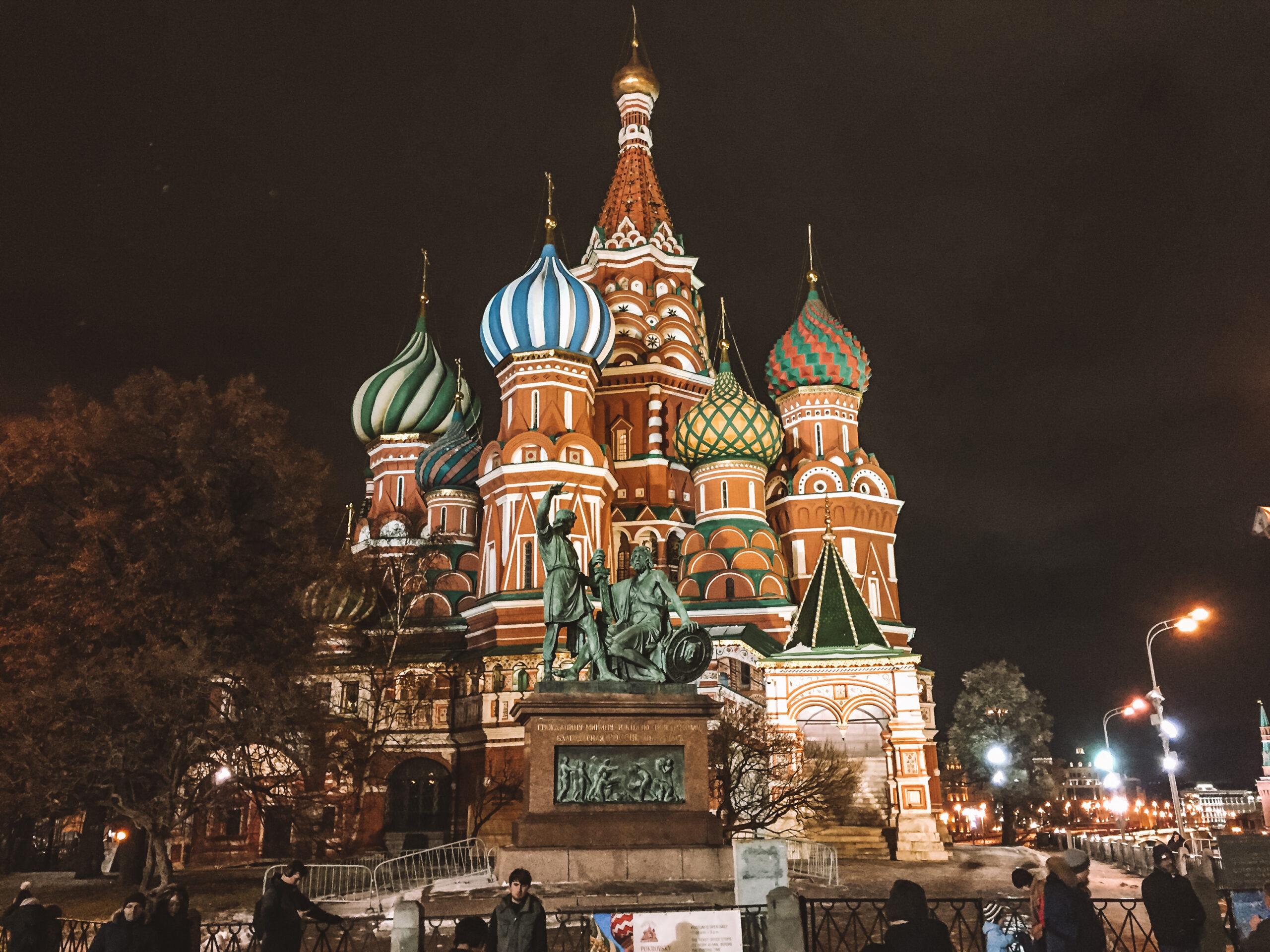 Solo Travel to Russia