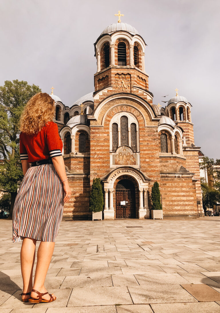 Solo Travel Guide Sofia - Sveti Sedmochislenitsi Church